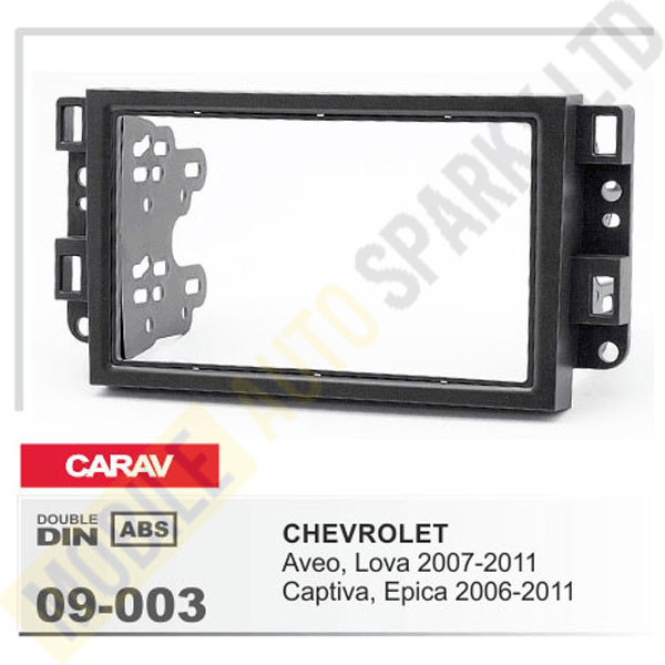 09-003 CHEVROLET Aveo, Lova 2007-2011; Captiva, Epica 2006-2011 Fitting Kit