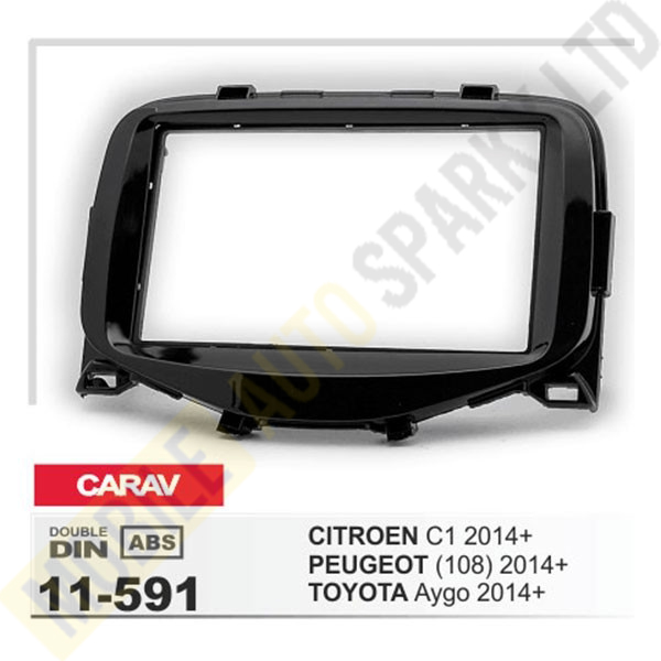 11-591 CITROEN C1 2014+ / TOYOTA Aygo 2014+ / PEUGEOT (108) 2014+ Fitting Kit