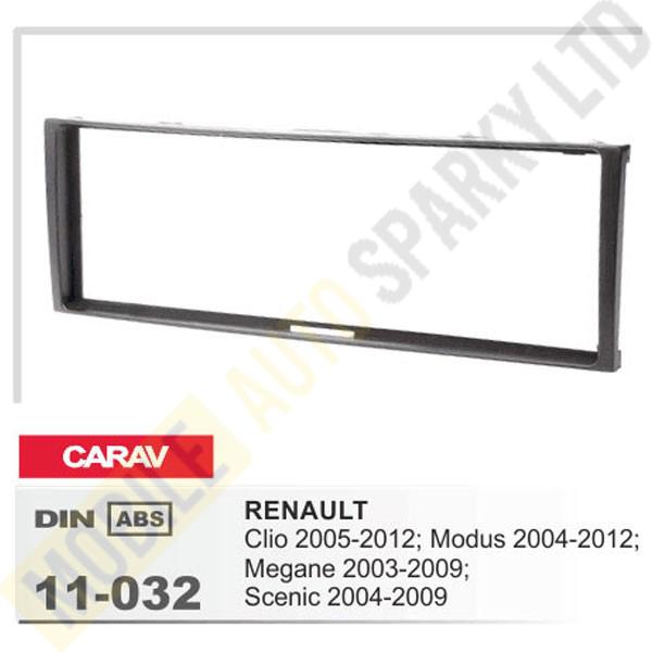 11-032 RENAULT Clio 2005-2012; Modus 2004-2012; Megane 2003-2009; Scenic 2004-2009 Fitting Kit