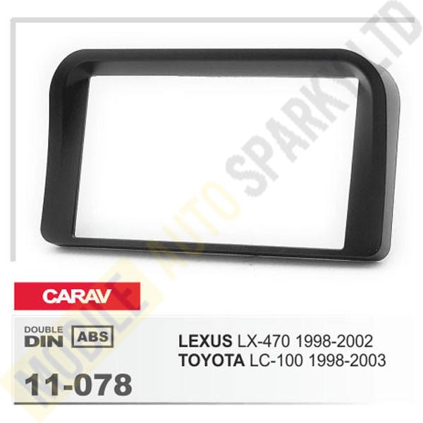 11-078 LEXUS LX-470 1998-2002 / TOYOTA LC-100 1998-2003 Fitting Kit