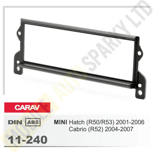 11-240 MINI Hatch (R50/R53) 2001-2006; Cabrio (R52) 2004-2007 Fitting Kit
