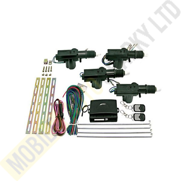 4 Door Remote Controlled Central Locking Kits 12V