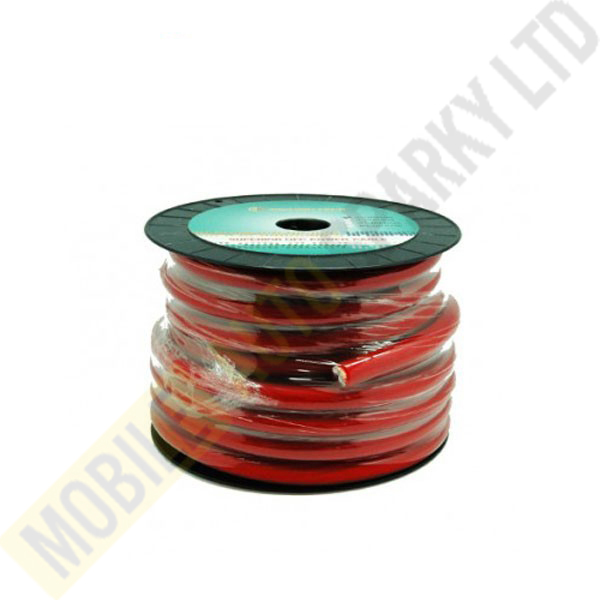4GA Power Cable (Red) 100ft/Roll