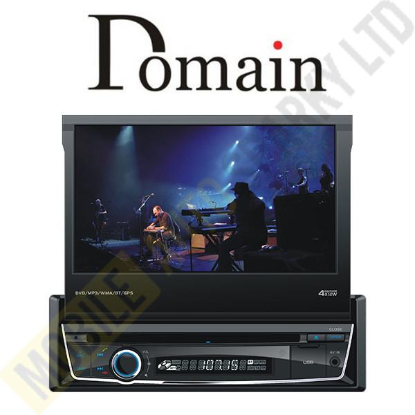 Domain DM-DV7M58NVI 7 Inch DVD/RMVB/CD/MP3/USB with GPS & Bluetooth