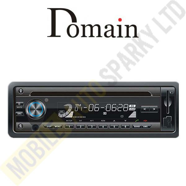 Domain Stereo DM-B6285BT CD / MP3 / USB / Receiver with Bluetooth