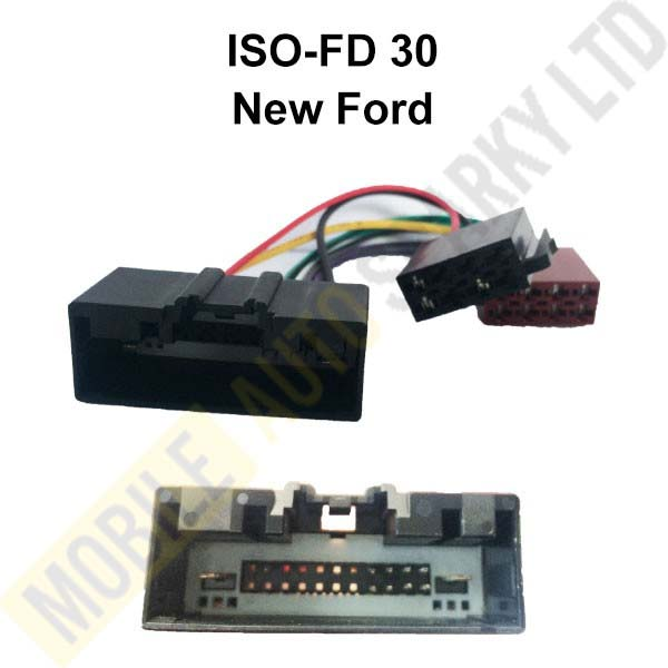 ISO-FD30 ISO Harness Adaptor for New Ford