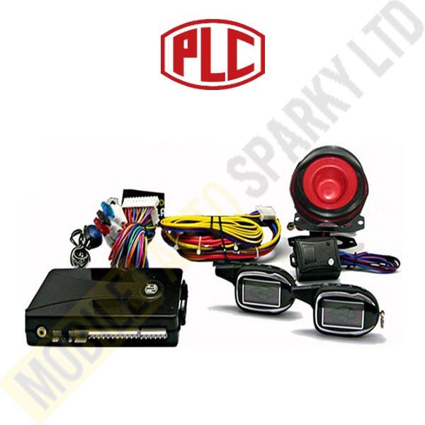 PLC Two Way Car Alarm FM-V15 with LCD Display (Installed)